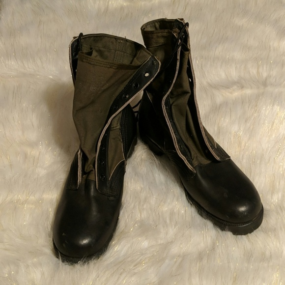 Navy Shoes | Mens Military Grade Boots